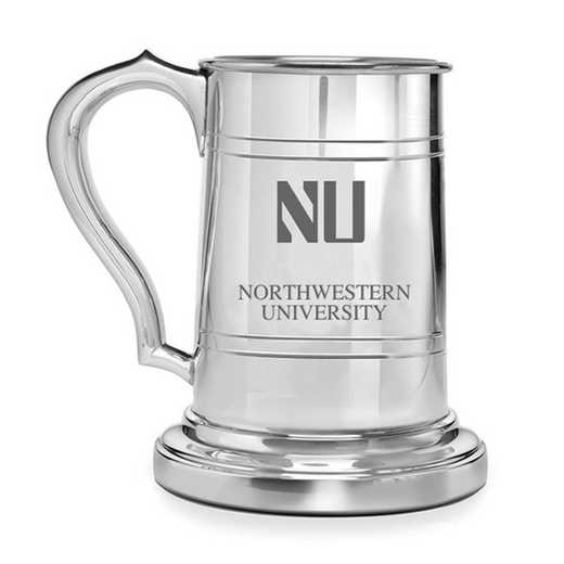 615789089179: Northwestern Pewter Stein by M.LaHart & Co.