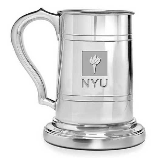 615789646181: NYU Pewter Stein by M.LaHart & Co.