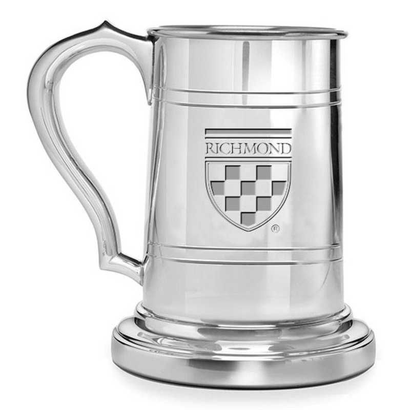 615789548034: University of Richmond Pewter Stein by M.LaHart & Co.