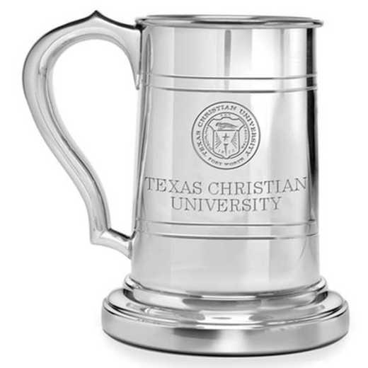 615789549321: TCU Pewter Stein by M.LaHart & Co.