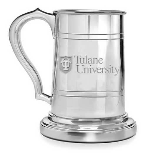 615789028574: Tulane Pewter Stein by M.LaHart & Co.