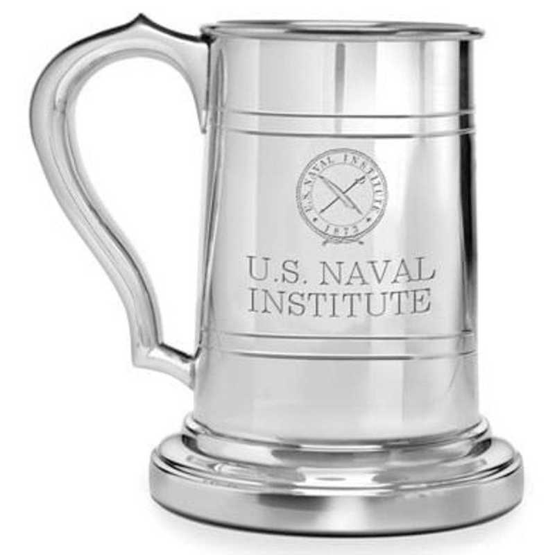 615789813606: USNI Pewter Stein by M.LaHart & Co.