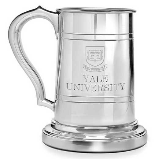 615789044390: Yale Pewter Stein by M.LaHart & Co.