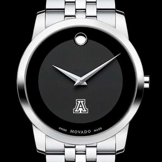 615789224433: Univ of Arizona Men's Movado Museum w/ Bracelet