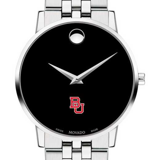 615789699811: Boston Univ Men's Movado Museum w/ Bracelet