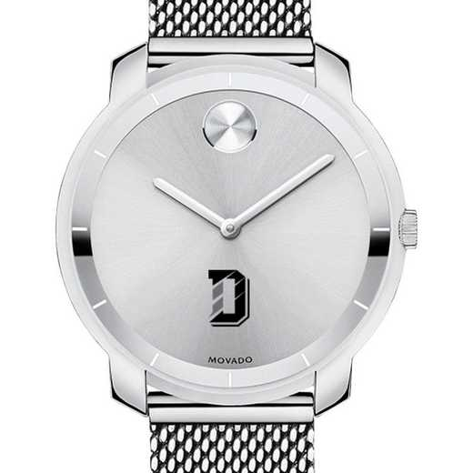 615789797425: Davidson College Women's Movado Stainless Bold 36