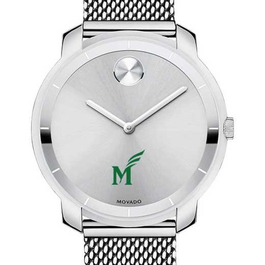615789252795: George Mason Univ Women's Movado Stainless Bold 36