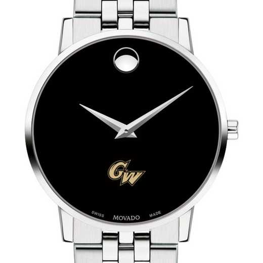 615789303800: George Washington Univ Men's Movado Museum w/ Bracelet