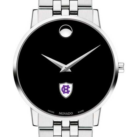 615789496083: Holy Cross Men's Movado Museum w/ Bracelet