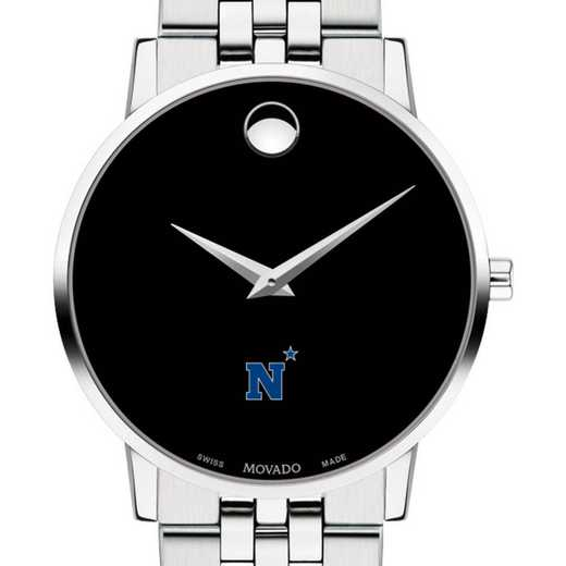615789766391: US Naval Academy Men's Movado Museum with Bracelet