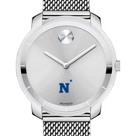 615789922346: US Naval Academy Women's Movado Stainless Bold 36