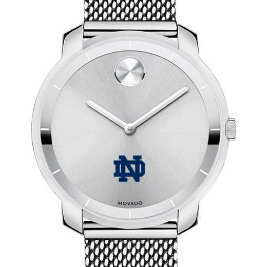 615789710042: U of Notre Dame Women's Movado Stainless Bold 36