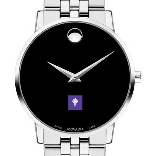 615789827641: New York Univ Men's Movado Museum with Bracelet