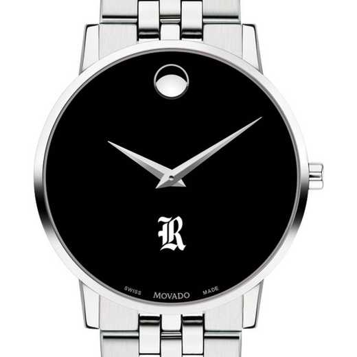 615789367550: Rice Univ Men's Movado Museum with Bracelet