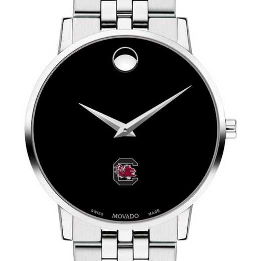 615789879275: Univers of South Carolina Men's Movado Museum with Bracelet