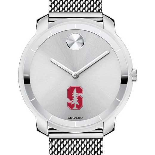 615789945369: Stanford Univ Women's Movado Stainless Bold 36