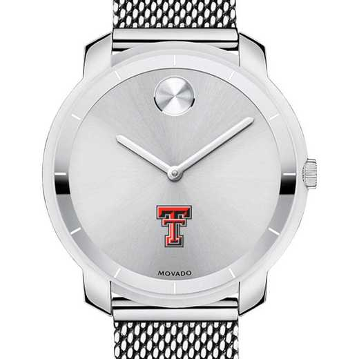 615789587750: Texas Tech Women's Movado Stainless Bold 36
