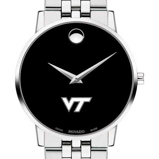 615789250661: Virginia Tech Men's Movado Museum with Bracelet