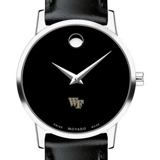 Wake Forest University Women s Movado Museum Watch with Leather Strap by  M.LaHart   Co 052a0b9e65876