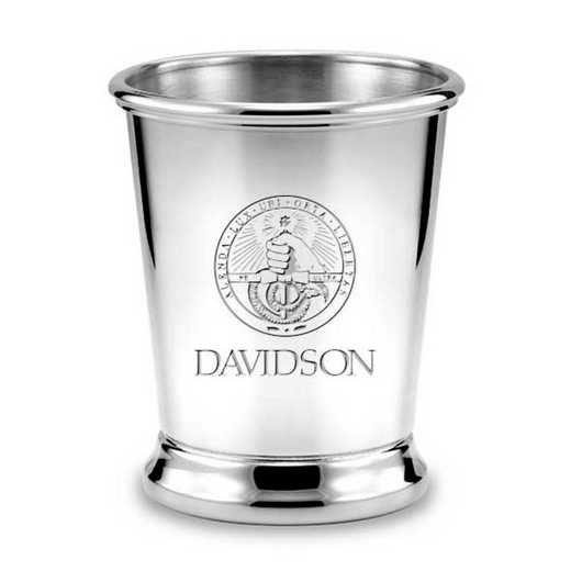 615789114963: Davidson College Pewter Julep Cup by M.LaHart & Co.