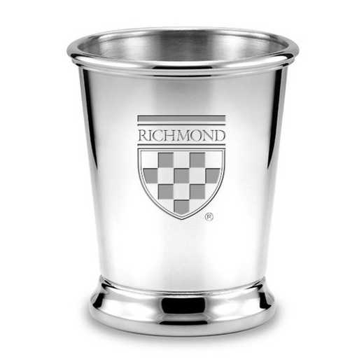 615789195559: University of Richmond Pewter Julep Cup by M.LaHart & Co.