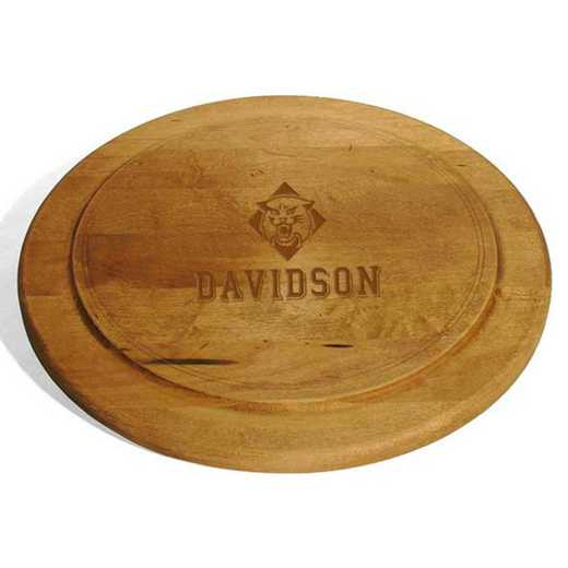 615789970712: Davidson College Round Bread Server by M.LaHart & Co.