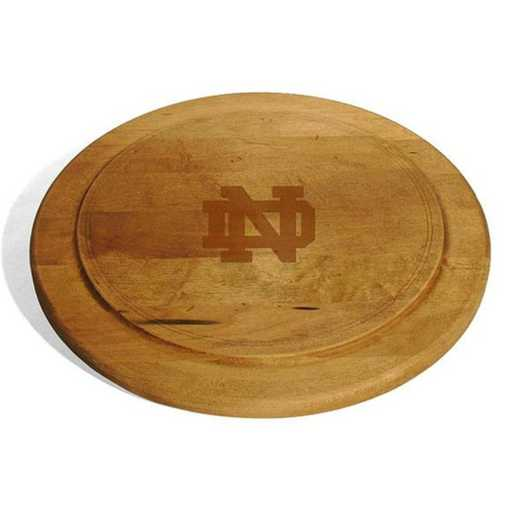 615789601166: Notre Dame Round Bread Server by M.LaHart & Co.