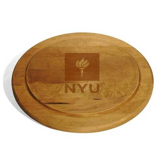 615789574705: NYU Round Bread Server by M.LaHart & Co.