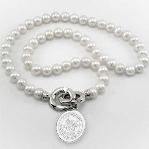 615789205340: Texas Pearl Necklace W/ SS Charm