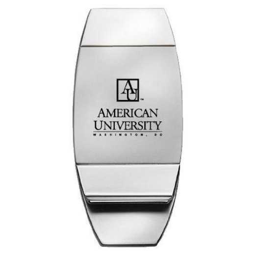 1145-AMERICN-L1B-IND: LXG MONEY CLIP, American University