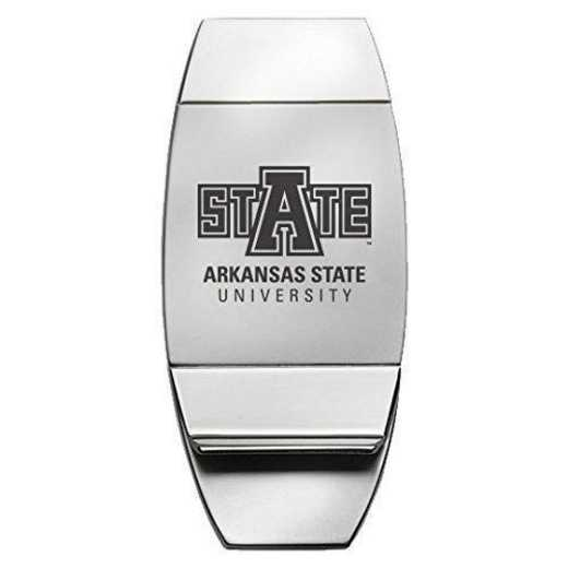 1145-ARKST-RL1B-CLC: LXG MONEY CLIP, Arkansas State