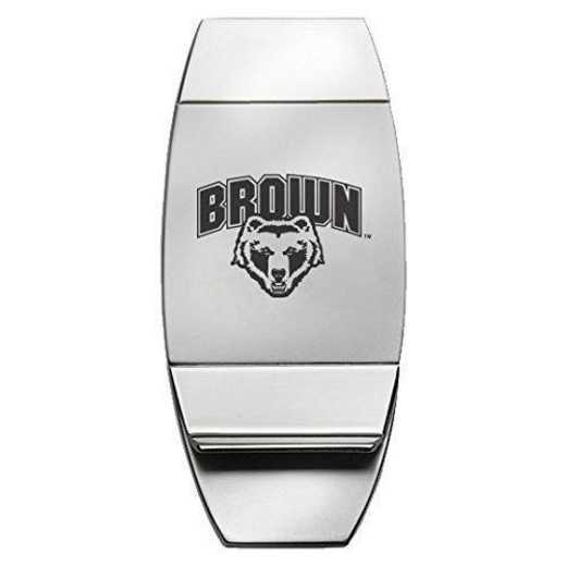 1145-BROWN-L1-LRG: LXG MONEY CLIP, Brown University
