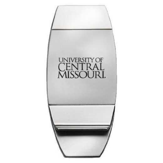 1145-CMSU-L1-SMA: LXG MONEY CLIP, Central Missouri