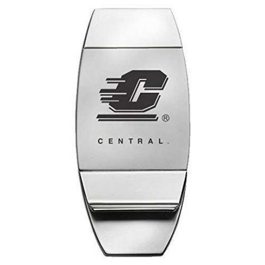 1145-CMU-L1-LRG: LXG MONEY CLIP, Central Michigan