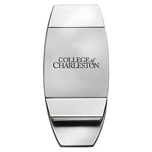 1145-COLCHAR-L1-CLC: LXG MONEY CLIP, Charleston College