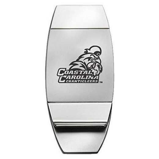 1145-COSTCAR-L1B-IND: LXG MONEY CLIP, Coastal Carolina