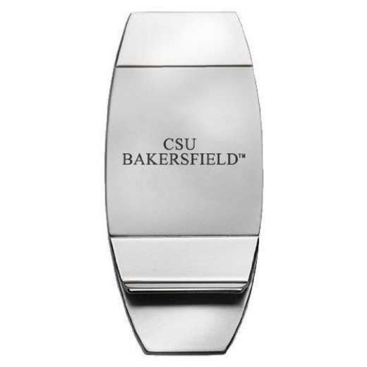1145-CSUBKRFLD-L1-SMA: LXG MONEY CLIP - Cal State-Bakersfield
