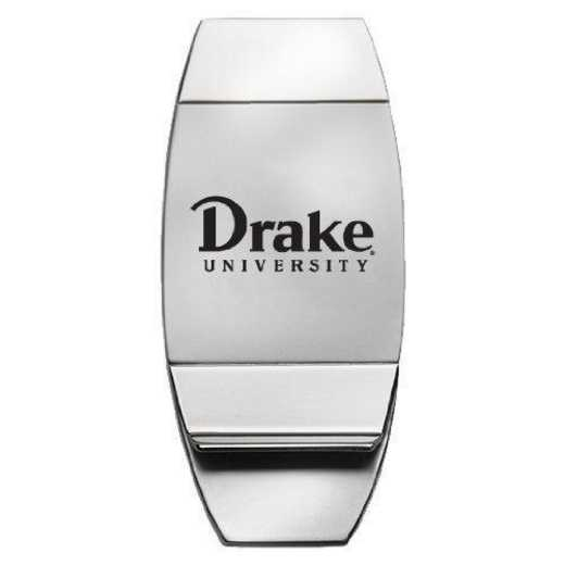 1145-DRAKE-L1B-CLC: LXG MONEY CLIP, Drake University