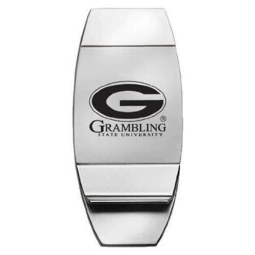 1145-GRAMBST-L1-IND: LXG MONEY CLIP, Grambling State