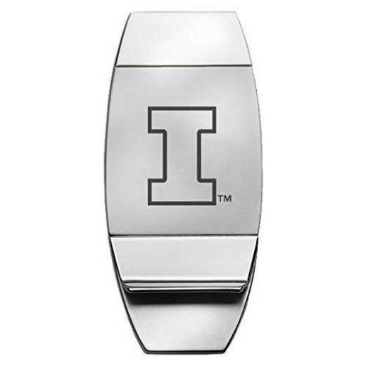 1145-ILLINOS-L1-CLC: LXG MONEY CLIP, Illinois