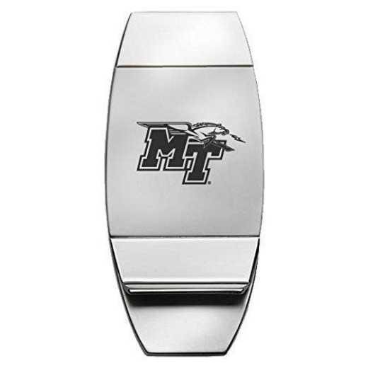 1145-MTSU-L1-LRG: LXG MONEY CLIP, Middle Tennessee St
