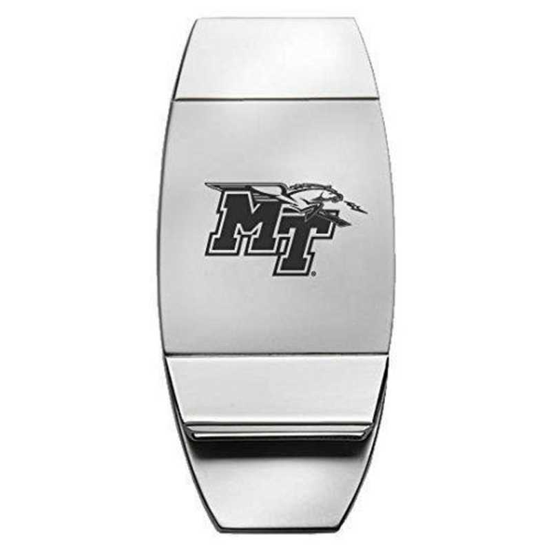1145-MTSU-RL1-LRG: LXG MONEY CLIP, Middle Tennessee St