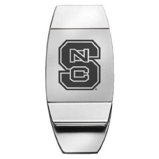 1145-NCSTATE-L1-LRG: LXG MONEY CLIP, NC State