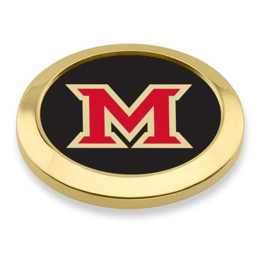 615789900030: Miami University Blazer Buttons by M.LaHart & Co.