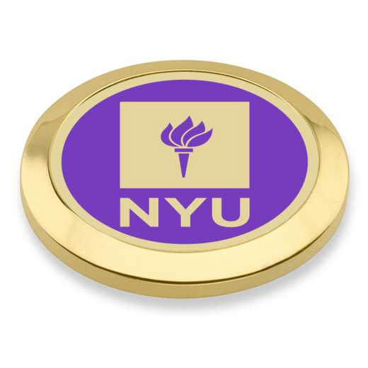 615789070153: New York University Enamel Blazer Buttons by M.LaHart & Co.