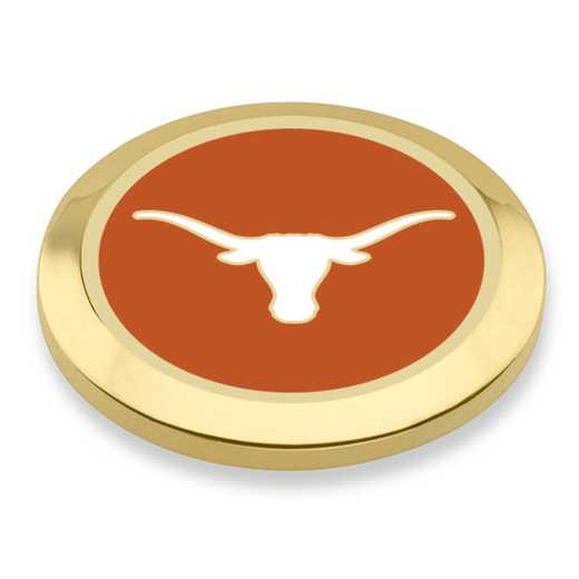615789122494: University of Texas Enamel Blazer Buttons by M.LaHart & Co.
