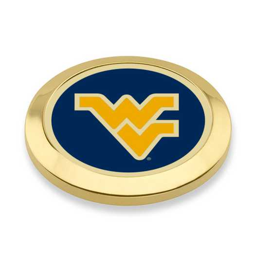 615789870180: West Virginia Univ Enamel Blazer Buttons by M.LaHart & Co.