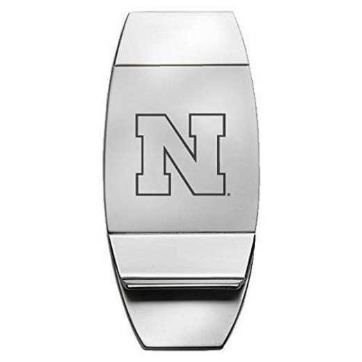 1145-NEBRASK-L1-CLC: LXG MONEY CLIP, Nebraska