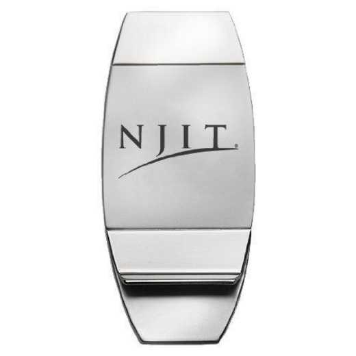 1145-NEWJERI-L1-LRG: LXG MONEY CLIP, New Jersey Insitiute of Tech