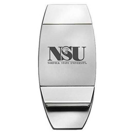 1145-NORFOLK-L1-SMA: LXG MONEY CLIP, Norfolk State